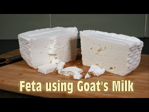 Making Feta using Goats Milk - Including Taste Test