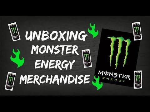 Monster Pull Tab Merchandise Unboxing