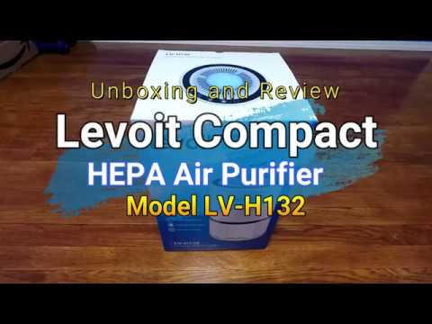 levoit compact air purifier unboxing and review youtube. Black Bedroom Furniture Sets. Home Design Ideas