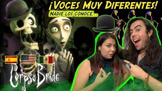 Reacción Doblaje Latino vs Español: El Cadáver De La Novia: ¡LOS RESTOS DEL DÍA! #timburton #doblaje