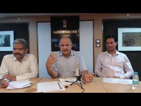 Delhi Dy CM Manish Sisodia's Facebook live on GST