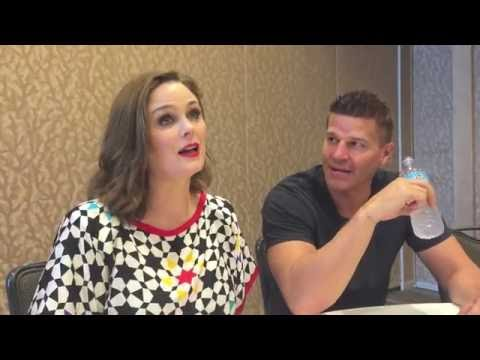 'Bones' Star Emily Deschanel and David Boreanaz Reflect On Meeting for the First Time