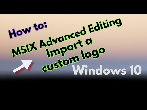 How to import a custom logo for an MSIX app package splashscreen