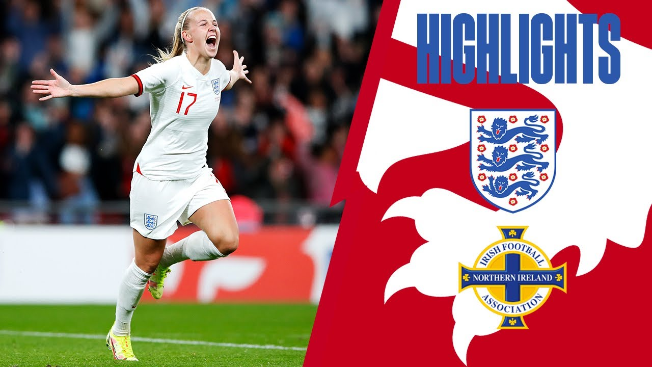 Download England 4-0 Northern Ireland   Beth Mead Hat-Trick Hero Delights Wembley Crowd   Highlights