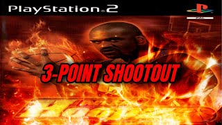 NBA Hoopz PS2 Gameplay - 3-POINT SHOOTOUT!