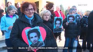 BANJALUČANI DANAS ISPRATILI TIJELO DAVIDA DRAGIČEVIĆA NA POSLJEDNJE PUTOVANJE (14 03 2019)