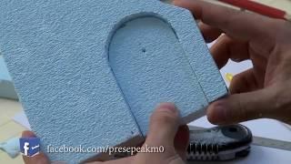 come realizzare un presepe in polistirolo prima parte