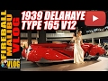 $6MILLION 1939 #DELAHAYE Type 165 V12 - FIREBALL MALIBU VLOG 549