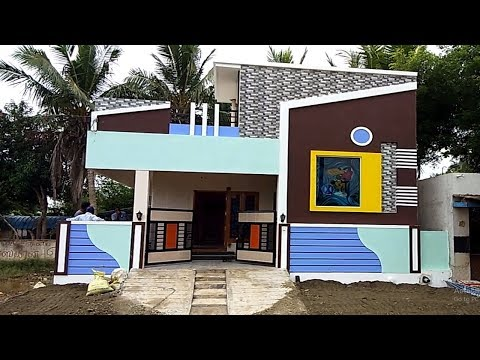 2 bhk Individual House with Car Parking for Sale  at Veppampattu, Chennai Ph - 9042279132