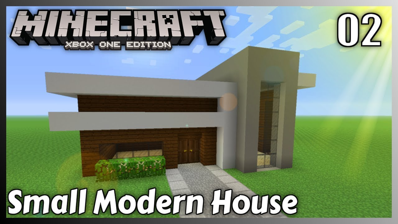 Minecraft House Tutorial Small Modern House 2 Minecraft Xbox