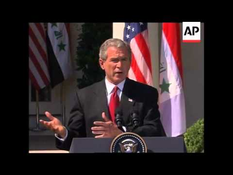 Allawi with Bush, Kerry comments on Iraq