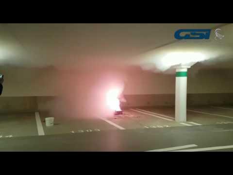 alarme incendie parking souterrain