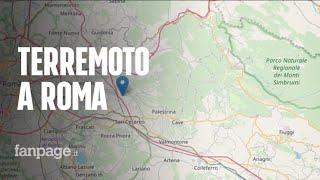 Terremoto Roma, epicentro ai Castelli Romani: