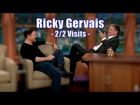 "Ricky Gervais - ""This Might Be The Best Chat show Ever!"" - 2/2 Visits In Chron. Order [720p]"