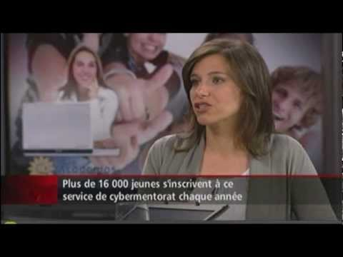 Catherine Légaré, personnalité de la semaine La Presse-Radio-Canada - Academos Cybermentorat