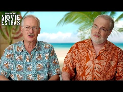 Moana | On-set visit with Ron Clements & John Musker 'Directors'
