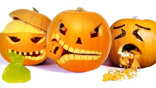 10 Awesome Halloween Pumpkin Carving Ideas