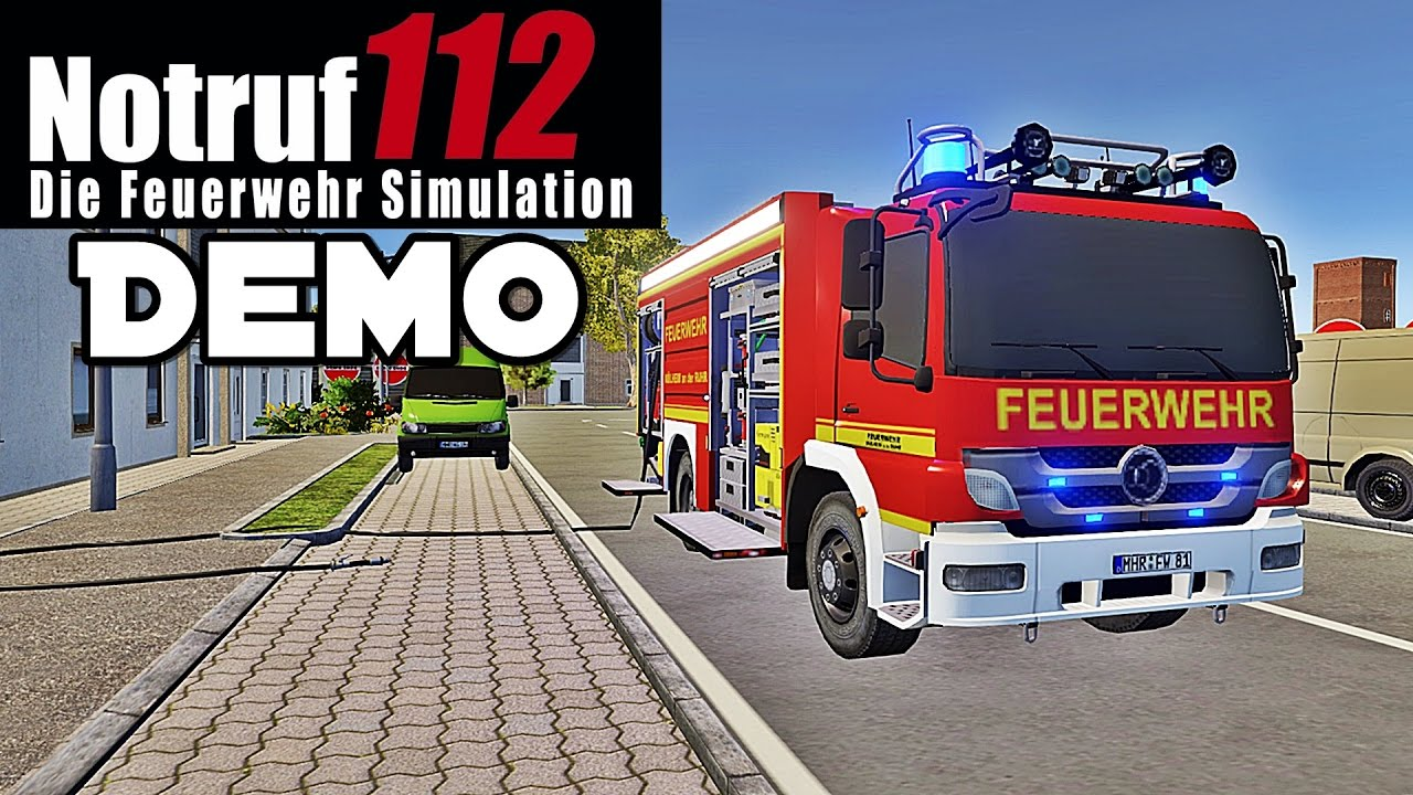 notruf 112 demo