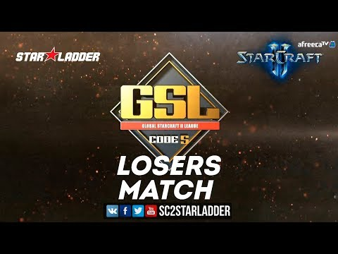 2018 GSL Season 2 Ro16 Group A Losers Match: Patience (P) vs Zest (P)