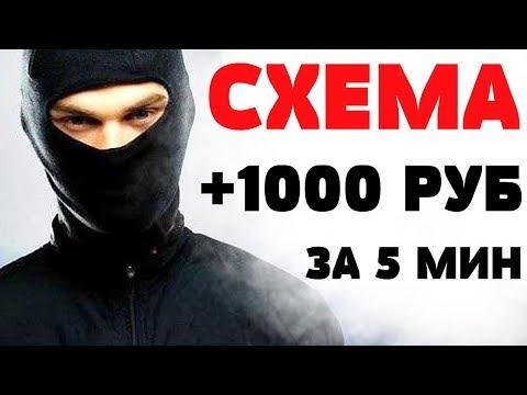 ГОТОВАЯ СХЕМА ЗАРАБОТКА ОТ 1000 РУБЛЕЙ В ИНТЕРНЕТЕ БЕЗ ВЛОЖЕНИЙ