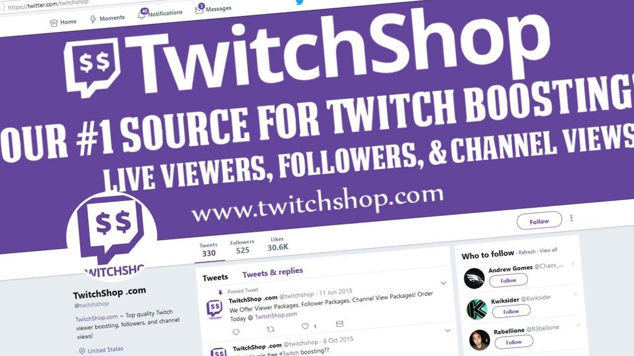 Twitch Fake Viewer