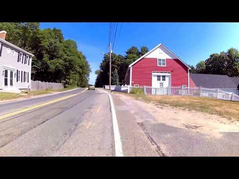 Bush Hill Rd, Hudson NH virtual cycling June 2016