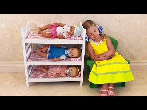 Диана как МАМА и Куклы...