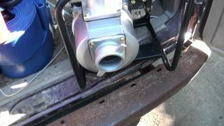 Part 5 New water pump  from princess auto and new van decals