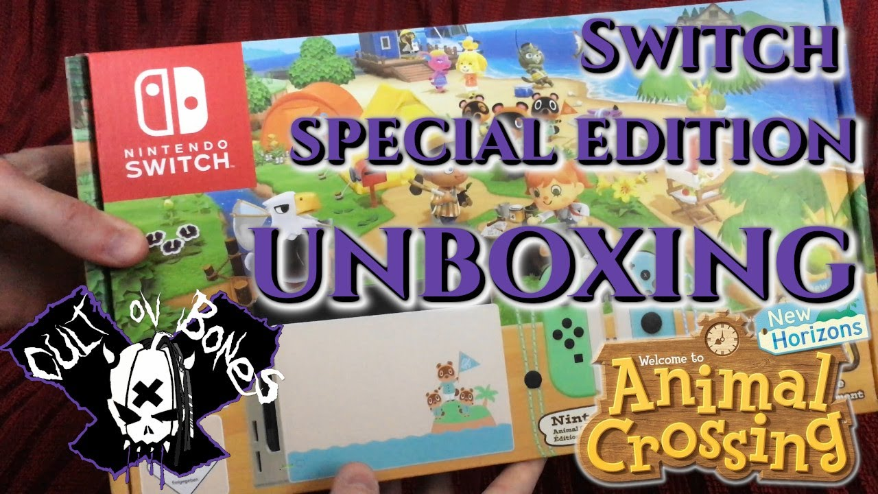 UNBOXING! Special Edition Animal Crossing New Horizons ...