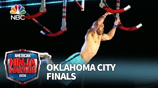 Karsten Williams at the Oklahoma City Finals - American Ninja Warrior 2016