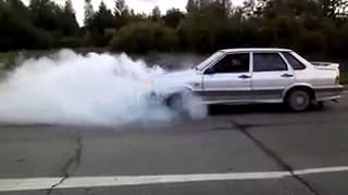 Burnout ВАЗ LADA 2115