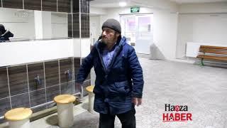 Tuvalette Yatan Şahsa Polis Sahip Çıktı