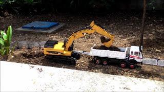 Download Video PART-24 Rc Excavation Mercedes SK 3544 & CAT 345D wedico kumandalı oyuncak kamyon kepçe MP3 3GP MP4