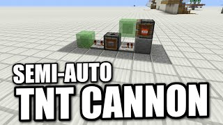How to make a good tnt cannon in minecraft ps4