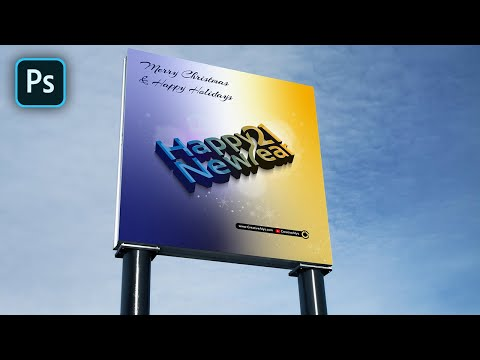 Change Your Billboard to Outdoor Advertising Style Using PSD Mockup