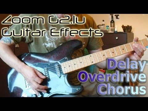 Zoom G2.1u | Delay Overdrive & Chorus Combined Effects
