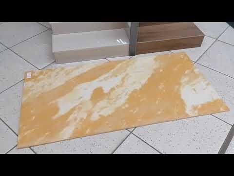 Maxi Lastre Effetto Marmo Travertino Persiano 60x120 - FMG Iris Ceramica Stock 100 Mt. Pavimento