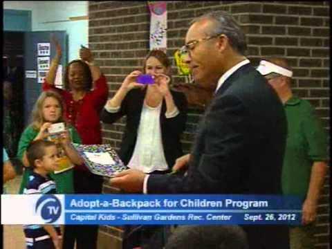CTV News Briefs: Cap Kids & Junior League Backpack Giveaway