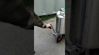 Молочное такси с Пастеризацией и Электроприводом