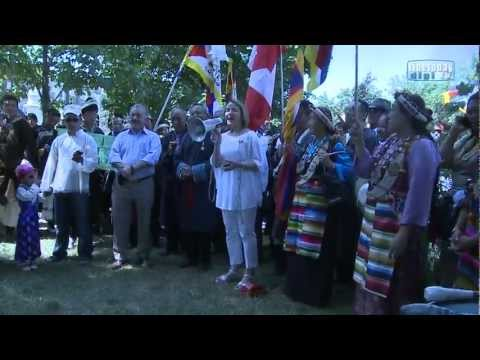 Toronto Tibetan Cultural PARADE TCCC 8 July 2012