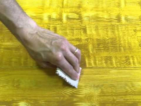 Decorazione finto legno - YouTube