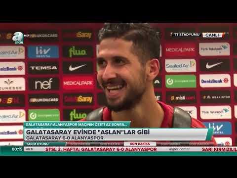 Emre Akbaba: Saygımdan dolayı attığım gole sevinmedim (Galatasaray-Alanyaspor)