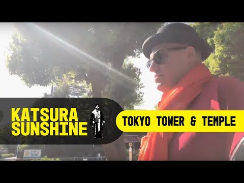 Sunshine takes you to see a temple next to Tokyo tower!