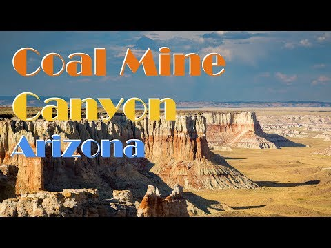 Coal Mine Canyon | Landscape Photography In Northern Arizona 2017 Vlog