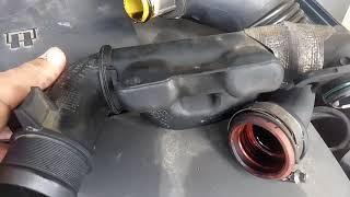 Démontage turbo, carter à huile et crépine sur 407 1.6 HDi 110