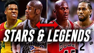 6 Current NBA STARS Compared To NBA Legends