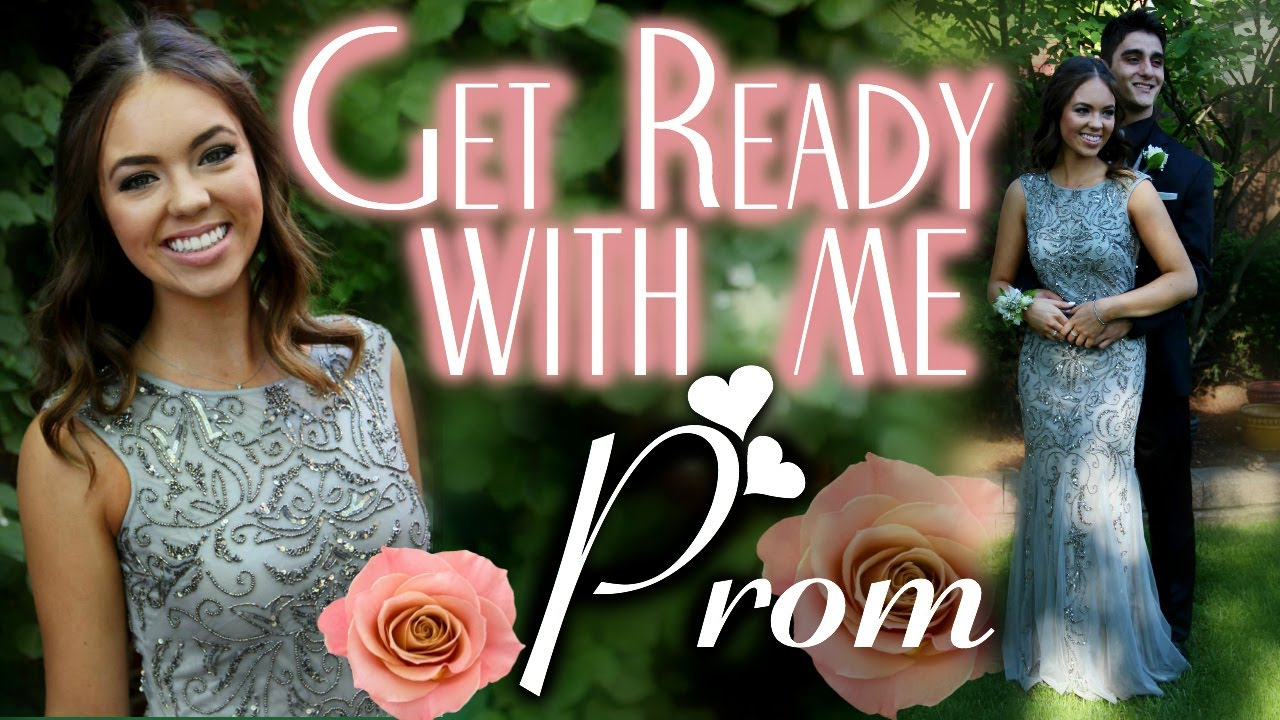 Get Prom Ready With Me Hair Makeup Dress -