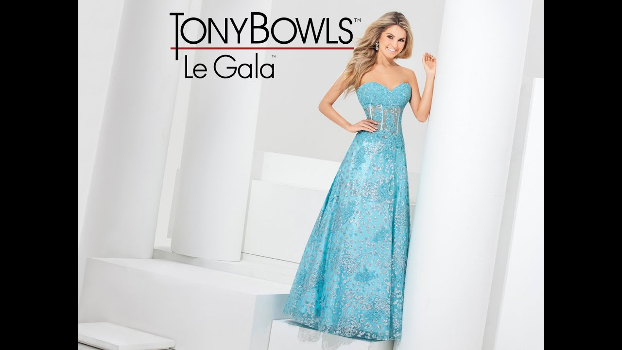 Tony Bowls Le Gala 115510 from Peaches Boutique, Chicago, IL - YouTube