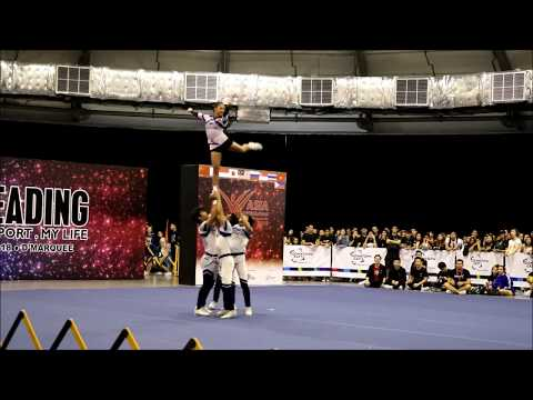ACIC 2018 149 Adamson Pep Squad Team A Philippines - Group Stunt Open Coed Premier [HD]