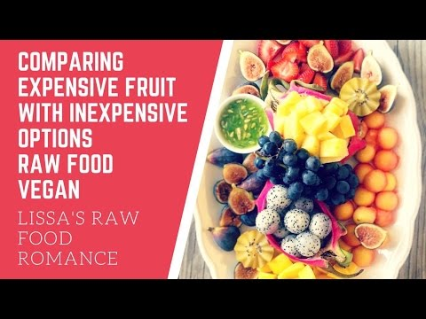 COMPARING FOOD COSTS AS A RAW VEGAN || NUTRITION GOALS